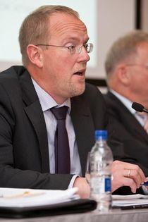Páll Gunnar Pálsson forstjóri SE - SA_fundur_3_okt_2012_2